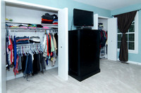 Master Bedroom #2 Closets