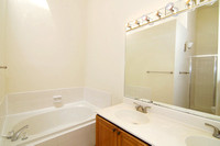 Master Bath with Soaking Tub, Shower & Double Vanity