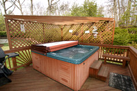 Upper Deck with Hot Tub