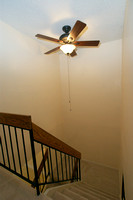 Staircase with New Fan