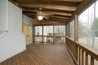 Screened Porch - View 2